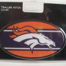 Denver Broncos Plastic Trailer Hitch Cover