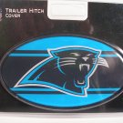 Carolina Panthers Plastic Trailer Hitch Cover