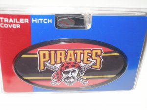 Pittsburgh Pirates Plastic Trailer Hitch Cover