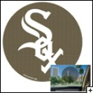 "Chicago White Sox 12"" Perforated Decal"