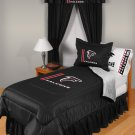 Atlanta Falcons Locker Room 7 pce Bedding Set-Twin