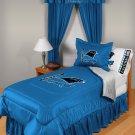 Carolina Panthers Locker Room 7 pce Bedding Set-Twin