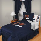 Chicago Bears Locker Room 7 pce Bedding Set-Twin