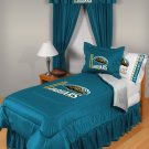 Jacksonville Jaguars Locker Room 8 pce Bedding Set-Full