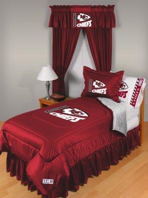 Kansas City Chiefs Locker Room 8 pce Bedding Set-Full