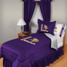 Minnesota Vikings Locker Room 8 pce Bedding Set-Queen