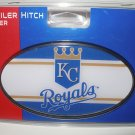 Kansas City Royals Plastic Trailer Hitch Cover