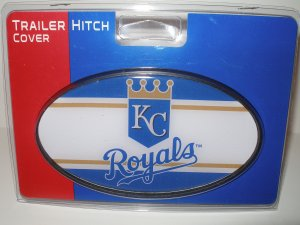 Kansas City Royals Plastic Trailer Hitch Cover