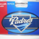 San Diego Padres Plastic Trailer Hitch Cover