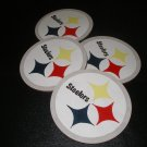 Pittsburgh Steelers Homemade Wooden Coaster-set of 4
