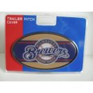 Milwaukee Brewers Plastic Trailer Hitch Cover