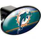 Miami Dolphins Plastic Trailer Hitch Cover