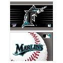 Florida Marlins 2 pk Fridge magnets