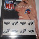 Philadelphia Eagles Peel and Stick Tattoos