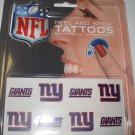 New York Giants Peel and Stick Tattoos
