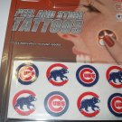 Chicago Cubs Peel and Stick Tattoos