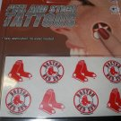 Boston Red Sox Peel and Stick Tattoos