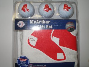 Boston Red Sox Golf Set