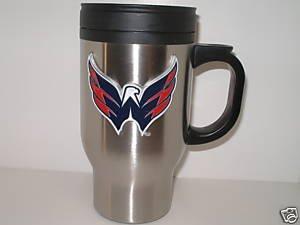 Washington Capitals Stainless Steel Travel Mug