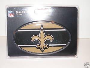 New Orleans Saints Trailer Hitch Cover