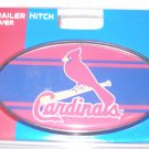 St Louis Cardinals Plastic Trailer Hitch Cover
