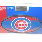 Chicago Cubs Plastic Trailer Hitch Cover