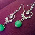 Earring, jewelry, made from natural materials, handmade