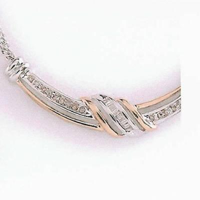 0.28 Carat Diamond Necklace