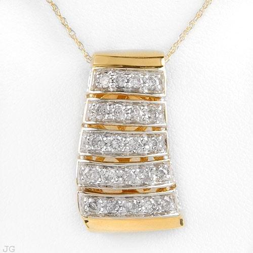 1.0 Carat Diamond Pendant