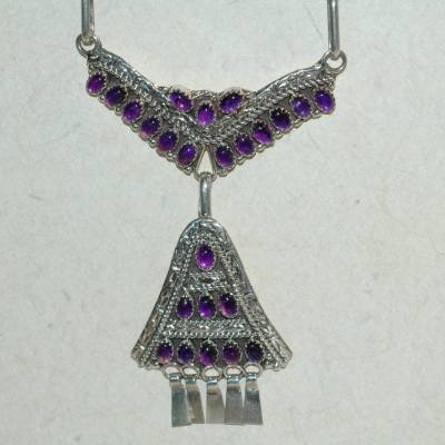 7.82 Carat Amethyst Necklace