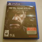 Metal Gear Solid V Ground Zeroes (PS4)
