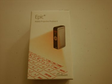 NEW Celluon EPIC ACC-EPICSLV Ultra-Portable Full-Size Virtual Keyboard