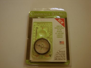 New Cammenga D3-T Tritium Base Plate Compass