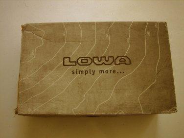NEW Lowa Women's Renegade II GTX LO Hiking Shoes Sz 9 Black/black