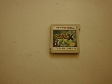 Pokemon X 3ds (Cart)