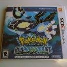 Pokemon Alpha Sapphire(complete)