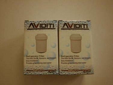 NEW Aviditi 1001-2AVI Refrigerator Water Filter, 2-Pack