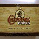 "NEW Chippewa Men's 8"" Lace-To-Toe Logger Waterproof Boots Sz 7.5W Bay Apache"
