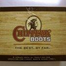 "NEW Chippewa Men's 8"" Lace-To-Toe Logger Waterproof Boots Sz 7.5W Bay Apache"