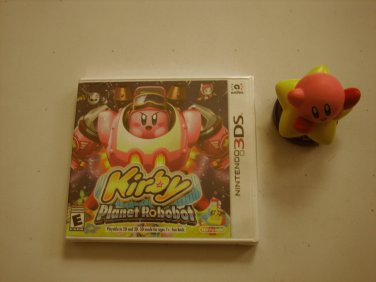 Kirby Planet Robobot 3ds (New) w Amiibo