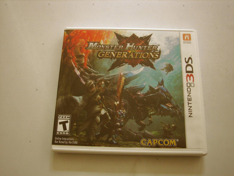 Monster Hunter Generations 3ds (complete)