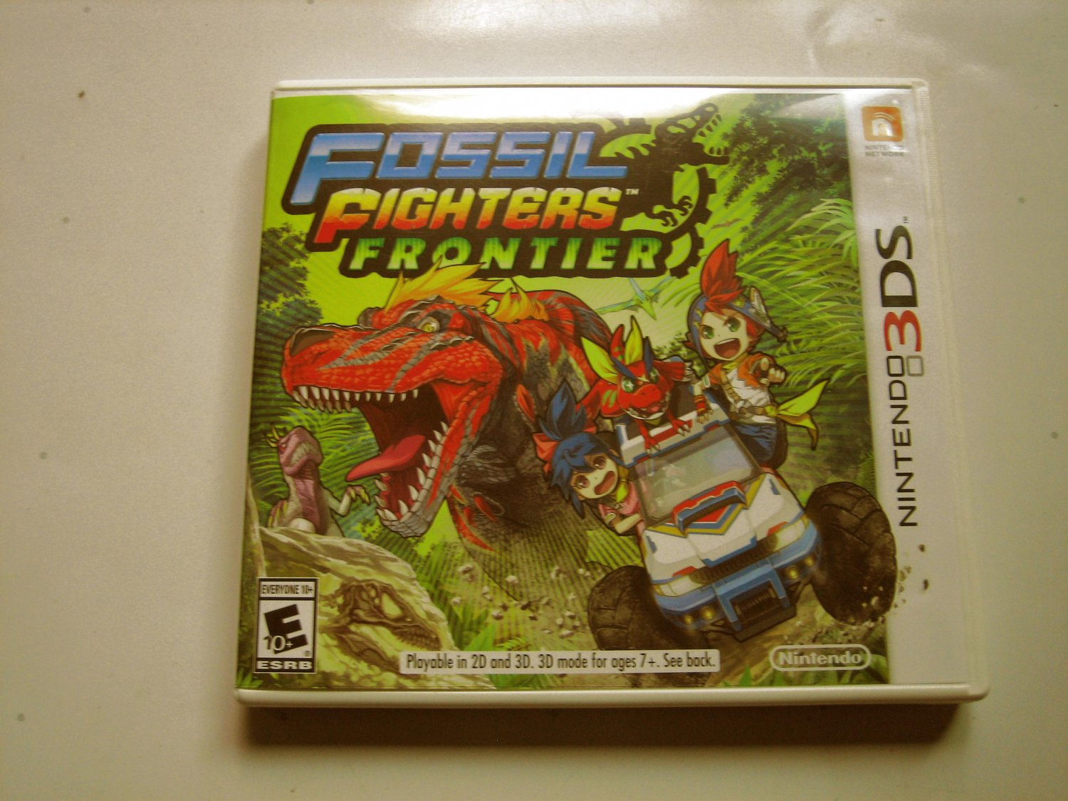 Fossil Fighters Frontier 3ds (Complete)