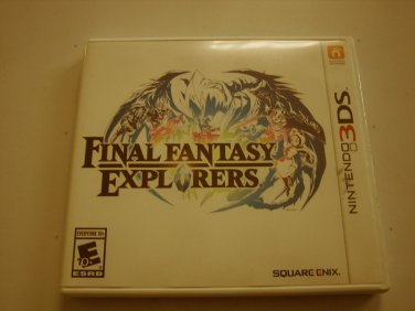 Final Fantasy Explorers 3ds (complete)