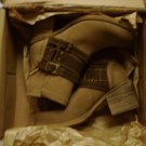 Bed Stu Women's Awaken Ankle Boots Tan Oil Suede 6.5 New With Box