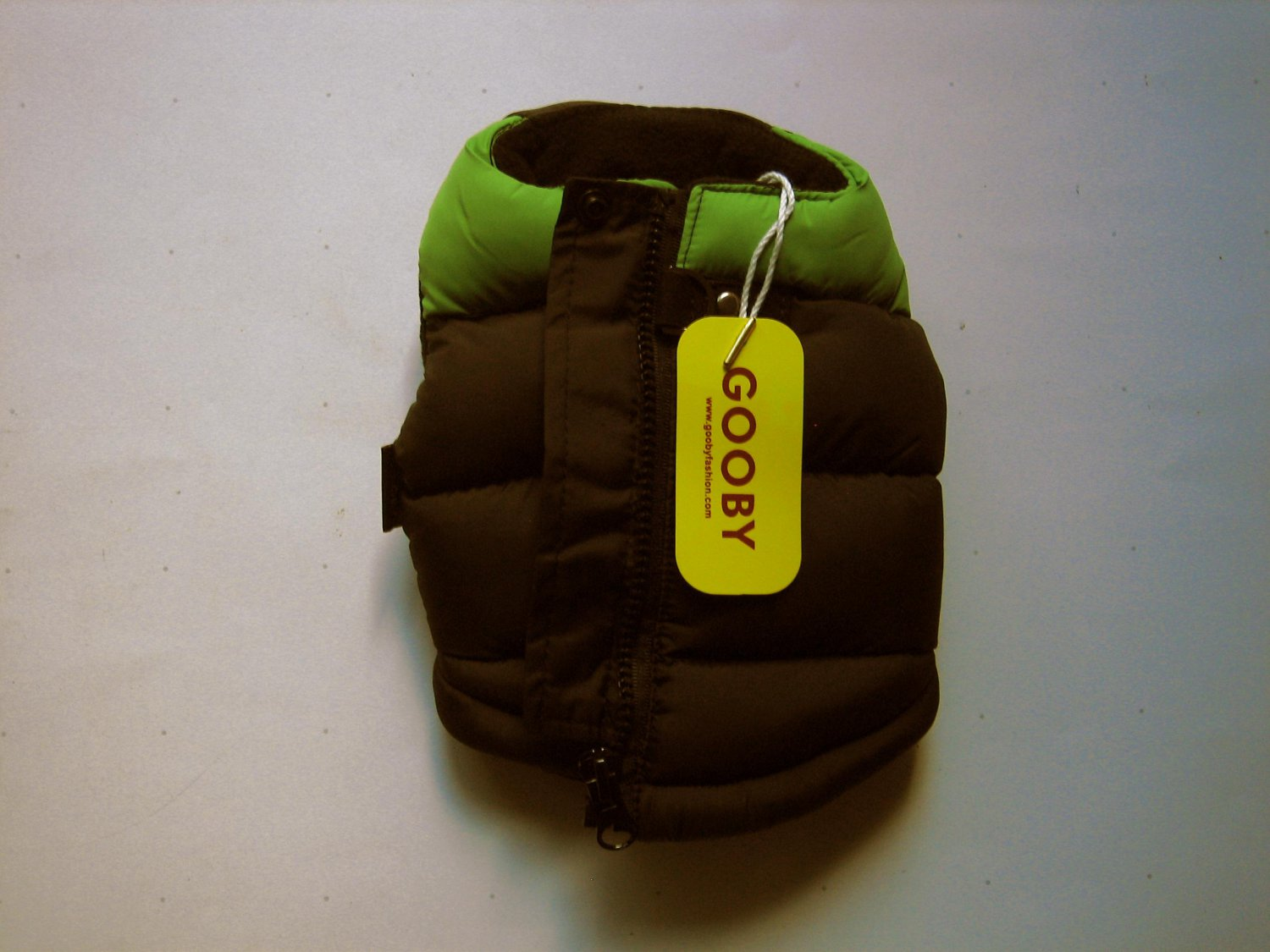 NEW Gooby Pet Padded Vest for Dog X-Small Green
