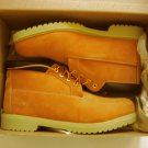 New Timberland Mens 50061 Waterproof Chukka Casual Boots / Shoes Nubuck Wheat / Tan