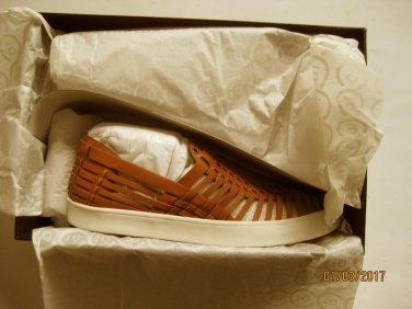 New Derek Lam 10 Crosby 3182 Womens Lia Tan Huarache Shoes 7.5 Medium (B,M)