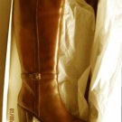 New Lauren Ralph Lauren 2522 Womens Clare Brown Knee-High Boots 9.5 Medium (B,M)