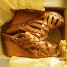 New Bed Stu Women's Gina Leather Platform Heel Sandals Size 11