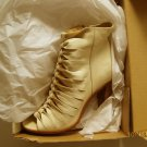 NEW FRYE Sofia Braided Peep-Toe Gladiator Boot 11m